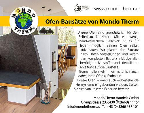 Inseratserie für Mondo Therm