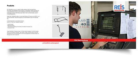 Reis Metalltechnik Firmenbroschüre