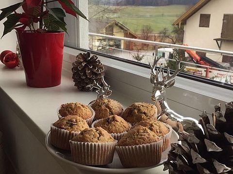 Muffins aus der SCHARFSINN-Backmischung