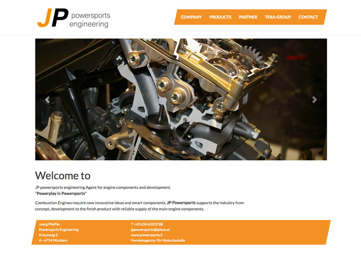Website JP Powersports